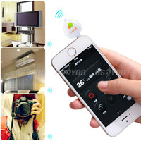Wholesale Portable mm Pocket Mobile Phone Smart IR Remote Control For Air Conditioner TV DVD Projector Drop Shipping A3