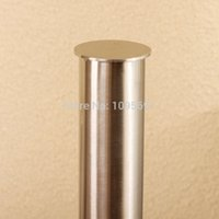 Cheap Free shipping Dining room, kitchen, household Stainless steel 460mm*150mm Kitchen paper holder Paper roll holder