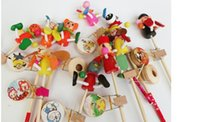 animations rotate - stall toy puppet doll rattle rattle wooden drum rotating color color crude animation explosion models