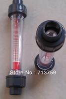 Wholesale LZS plastic water rotameter flow meter liquid flowmeter flow sensor quot