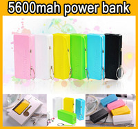 Cheap 5600mAh Universal Portable Power Bank Perfume 5600 mAh Emergency External Backup Battery Banks Chargers Power Pack for mobile phone iphone