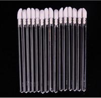 hair gloss - DHL Pro Disposable Lip Brush Lip Lipstick Gloss Wands Brush Applicator Makeup Tool