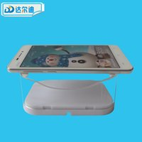 Wholesale Acrylic Tablet Display Stand Anti Slip Clear Transparent Anti Theft Brace Cellphone Store Supermarket Shopping DRD AC009