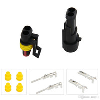 Wholesale 5 Kit Way Pins Waterproof Electrical Wire Connector Plug Hot