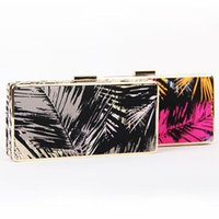Women artwork prints for sale - hot sale fashion shiny colorful landscape D printed day clutch bag for lady women s fashion mini party bag luxury hard case bag should