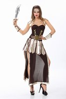 Cheap New Halloween pirate queen fitted dress Greek goddess Cleopatra DS party cosplay costumes