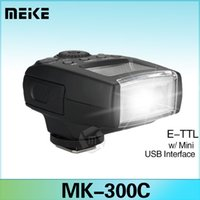 canon camera digital - Meike MK C Mini LCD E TTL Flash Speedlite for Canon DII D D D D D Digital SLR Camera