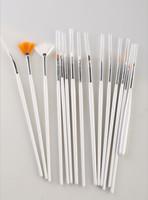 Cheap Nail Art Brushes Best 15pcs Nail Art Brush set