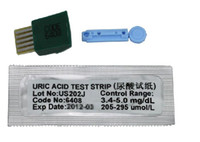 Wholesale 3pcs Urate strips will be ok urate tester test paper