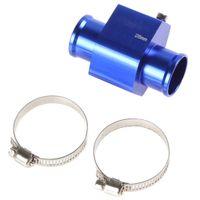 Wholesale 2pcs Water Temperature Temp Sensor Guage Adapter mm Aluminium with Clamps CEC_514