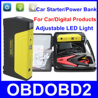 12v lead acid battery - Portable Car Jump Starter mAh Auto EPS Car Power Bank Supply For Laptop Mobile Phone Digital Products With LED Lighting