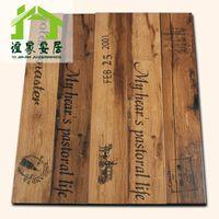 Wholesale Yi family home x900 Blue Mountain Cafe Bar Monogram tile backdrop wood blocks YJ
