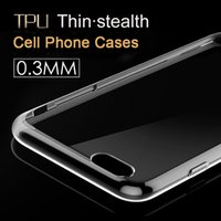 samsung cell phone - Cell Phone Cases For iPhone Plus S and Samsung S5 S6 Ultra Thin Crystal Transparent Soft TPU Silicone Cover Retail box