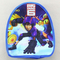 big blue book - Big Hero Book Bag Canvas Bag Kids School Bags Children Bags Backpacks Boys Girls Bags For School Child Backpack Kid Satchel Bag C3802