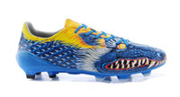 shoe sole material - Football Shoes Graffiti Yuanyang Football Shoes The Dragon Global Limited F50 Messi FG Grass Nail Mens Shoes The sole PVC Material