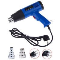 Wholesale 1800W Stepless Thermostat Adjustable Temperature Hand held Hot Air Gun Industrial Heat Gun Air Blower order lt no track