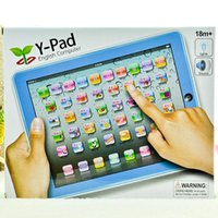 Wholesale Children Gifts Kids Electronic Early Education Toys Y Pad English learning Toys with Music and Led light