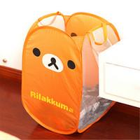 Wholesale Cute Bear Baby Child Nursery Bedroom Laundry Tidy Toy Storage Bag Basket