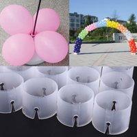 balloon connectors - New Decor Balloon Arch Folder Convenient Buckles Multiple Accessories Connect Ring Connectors