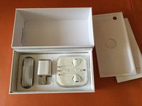 Wholesale For iPhone S Box White Cell Phone Packaging US Volume Retail Package For iPhone S Plus S S Empty Box With Accessories