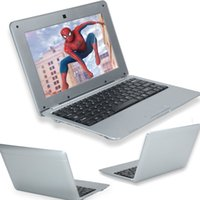 Wholesale New Slim Mini quot Android GB GB DUAL CORE Notebook Netbook Laptop Camera LDA1004