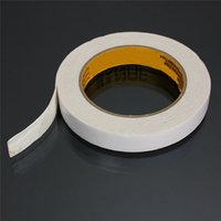 Wholesale Special Offer High Quality White Powerful Double Faced Adhesive Tape Foam Double Sided Tape mm x mm x M