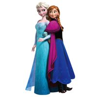 decor home - Movie Elsa Anna Wall Stickers Decals Removable Decor Home Kids Mural