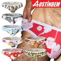 ab series - New arrival austinbem ab series billy cotton male fashion triangle panties