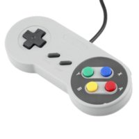 Wholesale 1 x Retro Super for Nintendo SNES Game USB Controller for PC for MAC Controllers SEALED HOT SALE