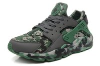 camouflage shoes - 2015 New Arrival Top Quality Air Huarache Shoes Camouflage Men Size
