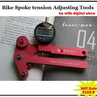 adjust wrench - spoke tool Bicycle Repair Tools key to spokes Bike Mtb Professional Accuracy Spoke wrench Tension Adjusting Digital Tools