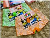 Wholesale Christmas Angry birds Children Underwear Boxer Panties packs Cotton Kids Boy Boxers Briefs to years for Birthday Party Clothing