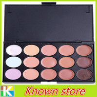Wholesale 1 Professional Color Camouflage Facial Concealer Palettes Neutral Makeup Eyeshadow Cosmetic Drop