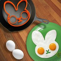 Wholesale creative design for fried eggs owl skull rabbit Fried Eggs FDA Fried Eggs food grade silicone products