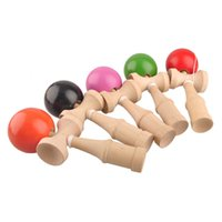 wooden ball - Japanese Traditional Wooden Toys Kendama Skills Ball Jade Sword Ball Kendama Ball for Adults Elder And Kids Colors