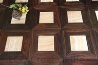 Wholesale Acid branch wood mm and jade mm mm Square JadeWood flooring Parquet flooring Medallion wooden floor living room Art flowers