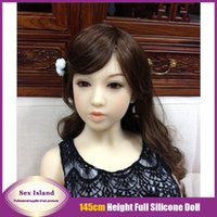 small sex doll - Newest Japanese cm Sexy Female Real Full Silicone Small Sex Doll With Skeleton Realistic Silicone Oral Love Doll For Men Drop Shipping