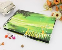 baby digital photo album - Popular wedding family baby photo book souvenir for life with sound of nature style digital printed album