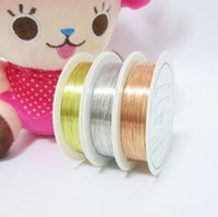 copper wire for jewelry - Silver Plated Color Brass Tarnish Resistant Tiger Tail Beading Wires Brass Copper Metal Jewelry Wire Great for Rings and Bangles
