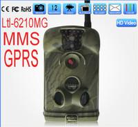 Ltl de la cáscara 6210MM 12MP 1080P HD MMS explorando la cámara de la caza del IR de la cámara GSM / GPRS IR + video 6210M