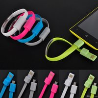Wholesale USB Charging Charge Data Sync Cable For Mobile Phone Bracelet Wrist Band Charger for Samsung S4 S5 S6 HTC Lenovo Huawei Android