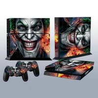 Wholesale 1pc Joker Vinly Skin Sticker for Sony For PS4 For PlayStation and Controller Skins