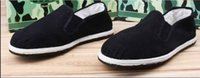 Wholesale Four shoes Beijing old shoes in the elderly leisure shoes retro folk style cotton sole shoes
