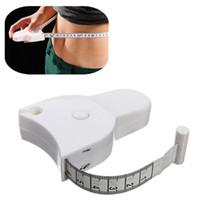 Wholesale 1pcs Fashion Mini Cute Tape Measure Fitness Accurate Body Fat Caliper Body Measuring Tape Ruler Measure cm