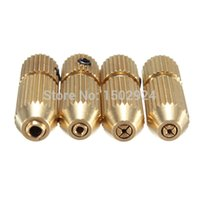 Wholesale 2 mm Brass Mini Small Electric Motor Shaft Twist Drill Clamp Fixture Chuck mm mm New