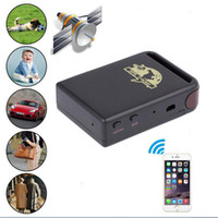 Wholesale personal handheld mini GPS Tracker TK102B for kids elder vehicle with monitor SOS android Iphone APP