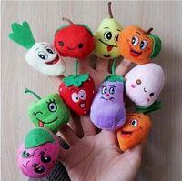 Cheap Vegetable Finger Puppets Best Fruit finger Puppets
