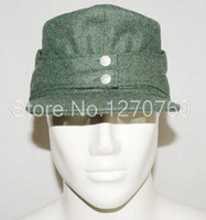 Wholesale WWII GERMAN WH EM M43 PANZER WOOL FIELD CAP SIZE XL