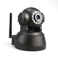 Wholesale 2015 Hot sale Wireless P2P IP Camera Audio WIFI IR Motion Detection Pan Tilt Webcam Network Jecksion