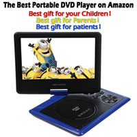 avi format dvd - DBPOWER quot Portable DVD Player Portatil with Swivel Screen Supports SD Card and USB Direct Play in Formats MP4 AVI RMVB MP3